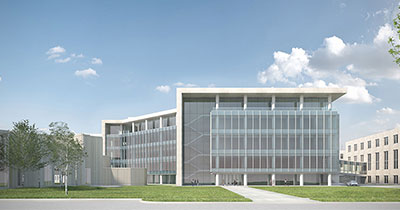 Mudd Library Rendering