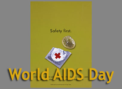 World Aids Day exhibit cover photo