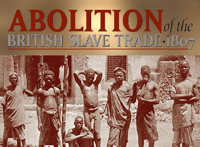 British slave trade exhibit cover photo