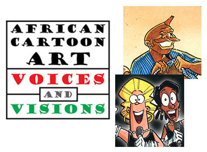 Cartoon exhibit cover photo