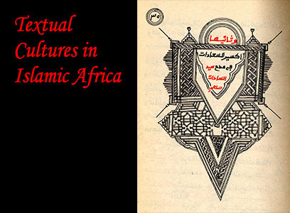 Textual cultures exhibit cover photo