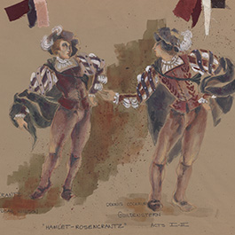 Virgil Johnson Costume Design for Hamlet