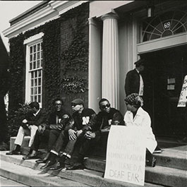 Black student protesters, 1968